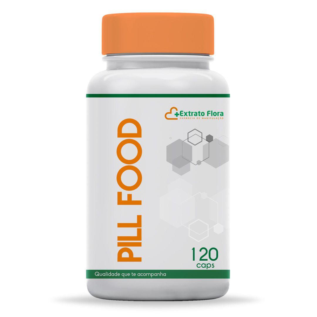Pill Food 120 Cápsulas