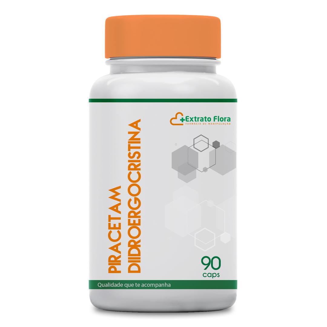 Piracetam 400mg + Diidroergocristina Mesilato 1mg 90 Cápsulas