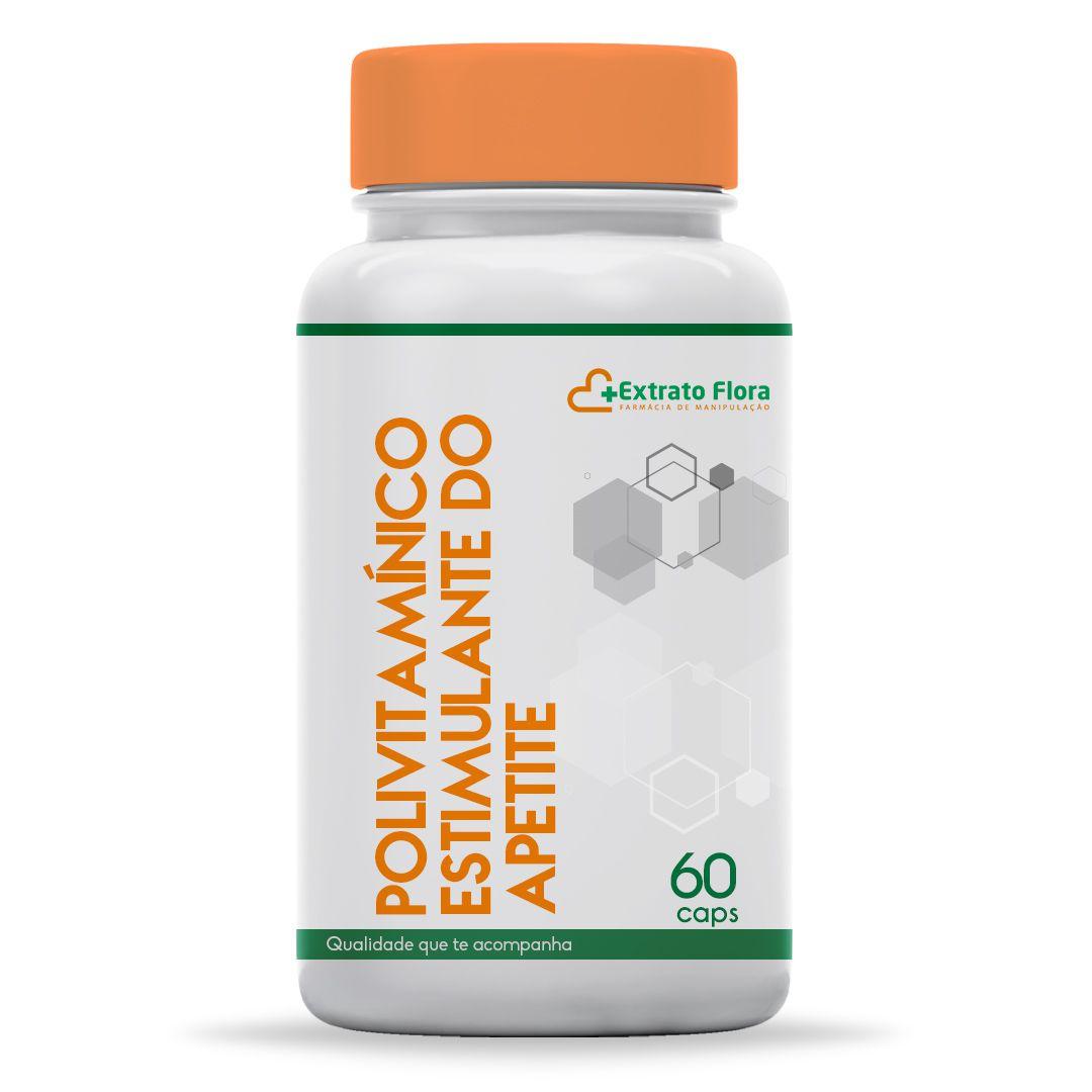 Polivitamínico Estimulante do Apetite 60 Cápsulas