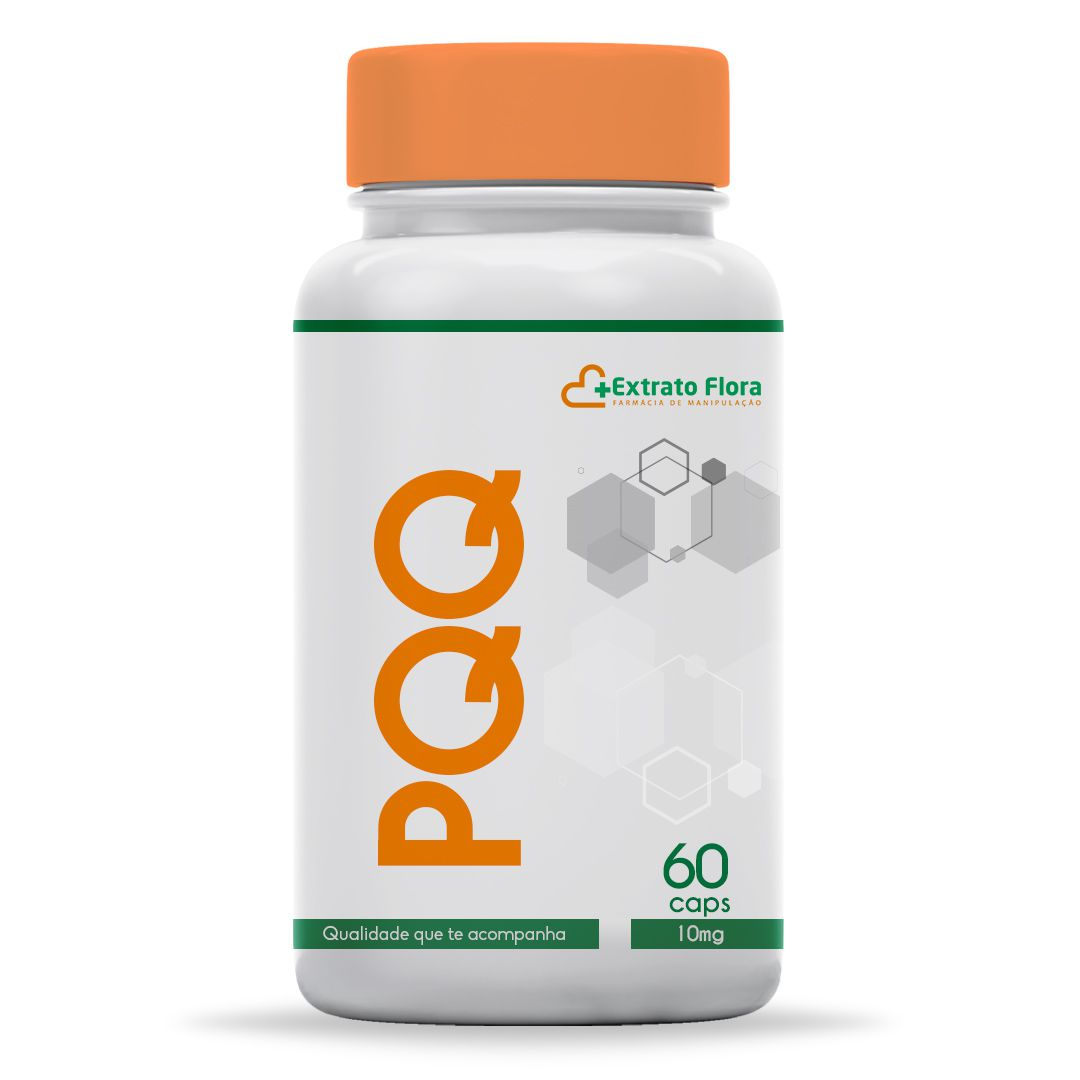 PQQ 10mg 60 Cápsulas  (Pirroloquinolina Quinona)