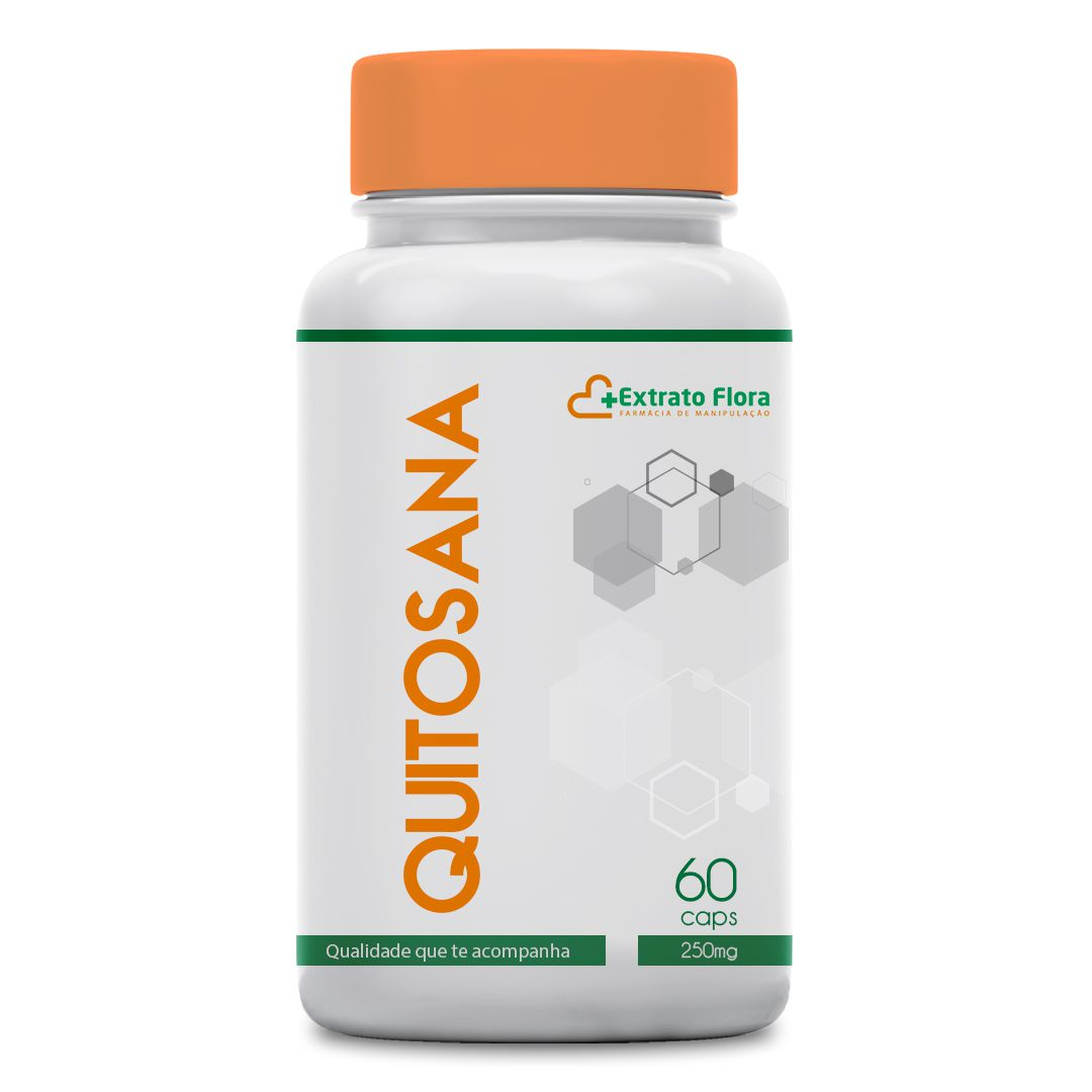 Quitosana 250mg 60 Cápsulas