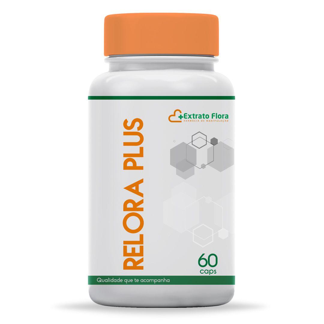 Relora Plus 60 Cápsulas (relora 300mg, kawa kawa 150mg, passiflora 200mg)