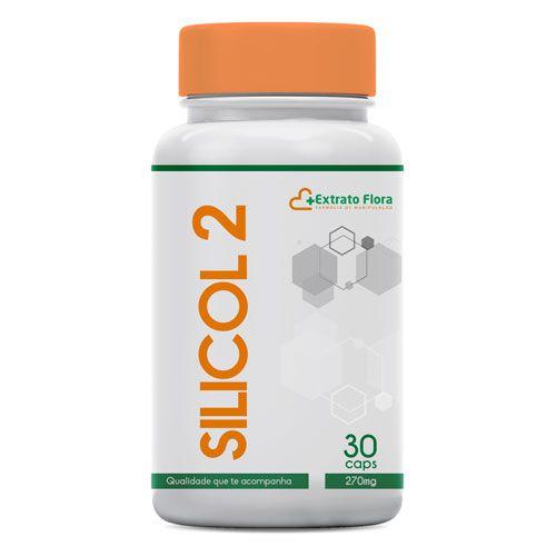 Silicol -2 com 270mg 30 Cápsulas (silício orgânico com colágeno)