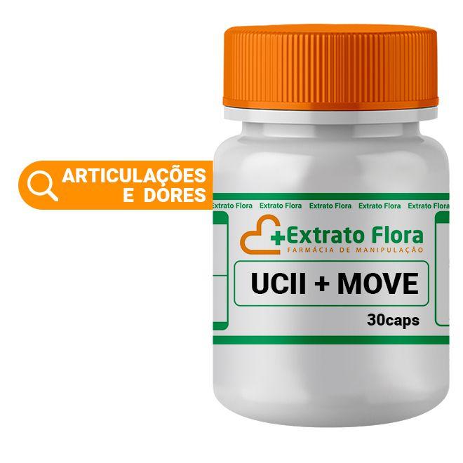 UC II 40mg + Move 30 Cápsulas 100mg com Selo de Autenticidade