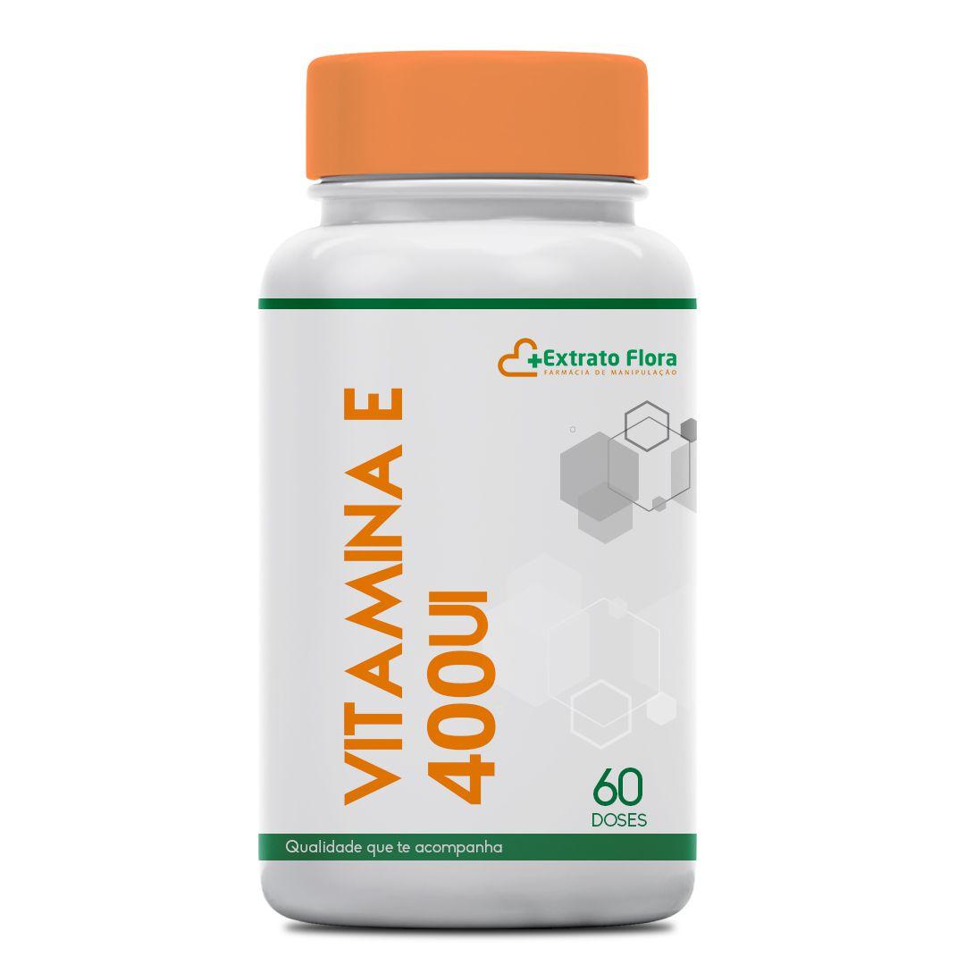 Vitamina E 400UI 60 Doses (Tocoferol)