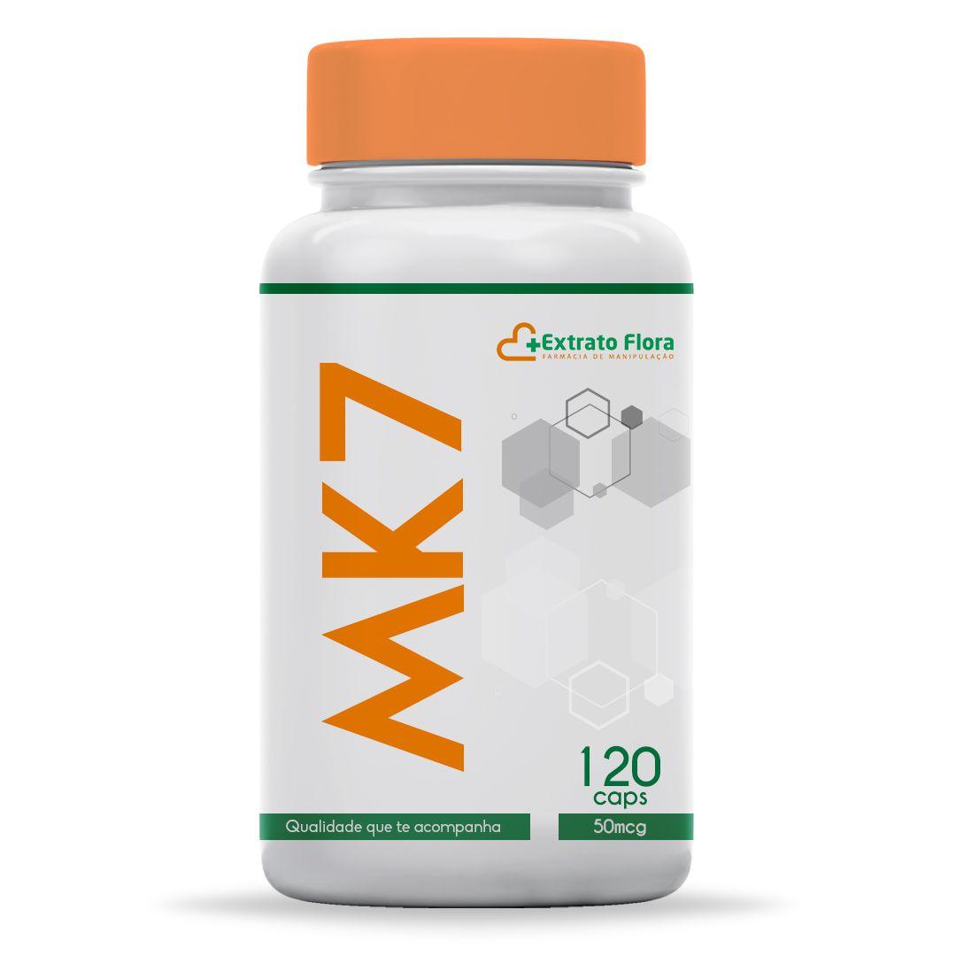 Vitamina K2 (mk-7) 50mcg 120 Cápsulas