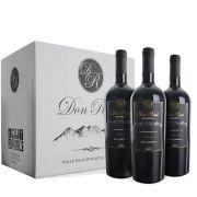 Caixa com 12 unid - Vinhos Don Raul Syrah-Carmenére - 2013