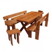 Mesa para Churrasco Modelo Gaudério