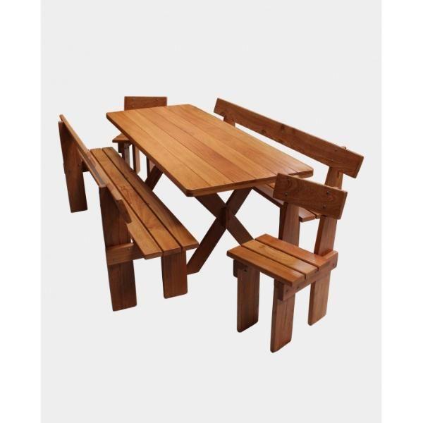 Mesa para Churrasco Modelo Gaudério  - Mesas para Churrasco