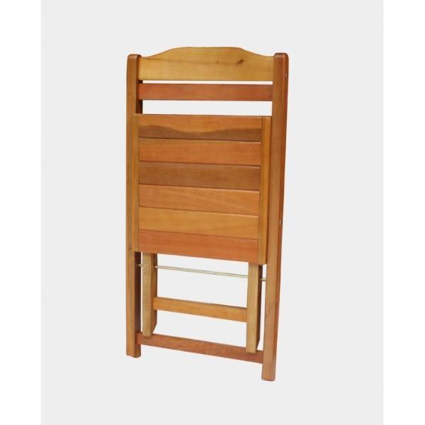 Mesa Rústica 2m para Churrasco e 8 Cadeiras Dobráveis   - Mesas para Churrasco