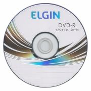 CD-DVD-R 4.7 GB 16x Sem Capa 120 Minutos Elgin