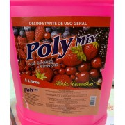Desinfetante Poly Frutas Vermelhas