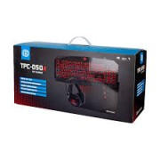 Kit Teclado Mouse HeadSet Mousepad TPC-050