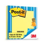 Refil Bloco Adesivo Post-it Amarelo 3M