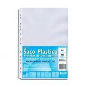 Refil Saco Plástico A4 para Pasta Catálogo Chies