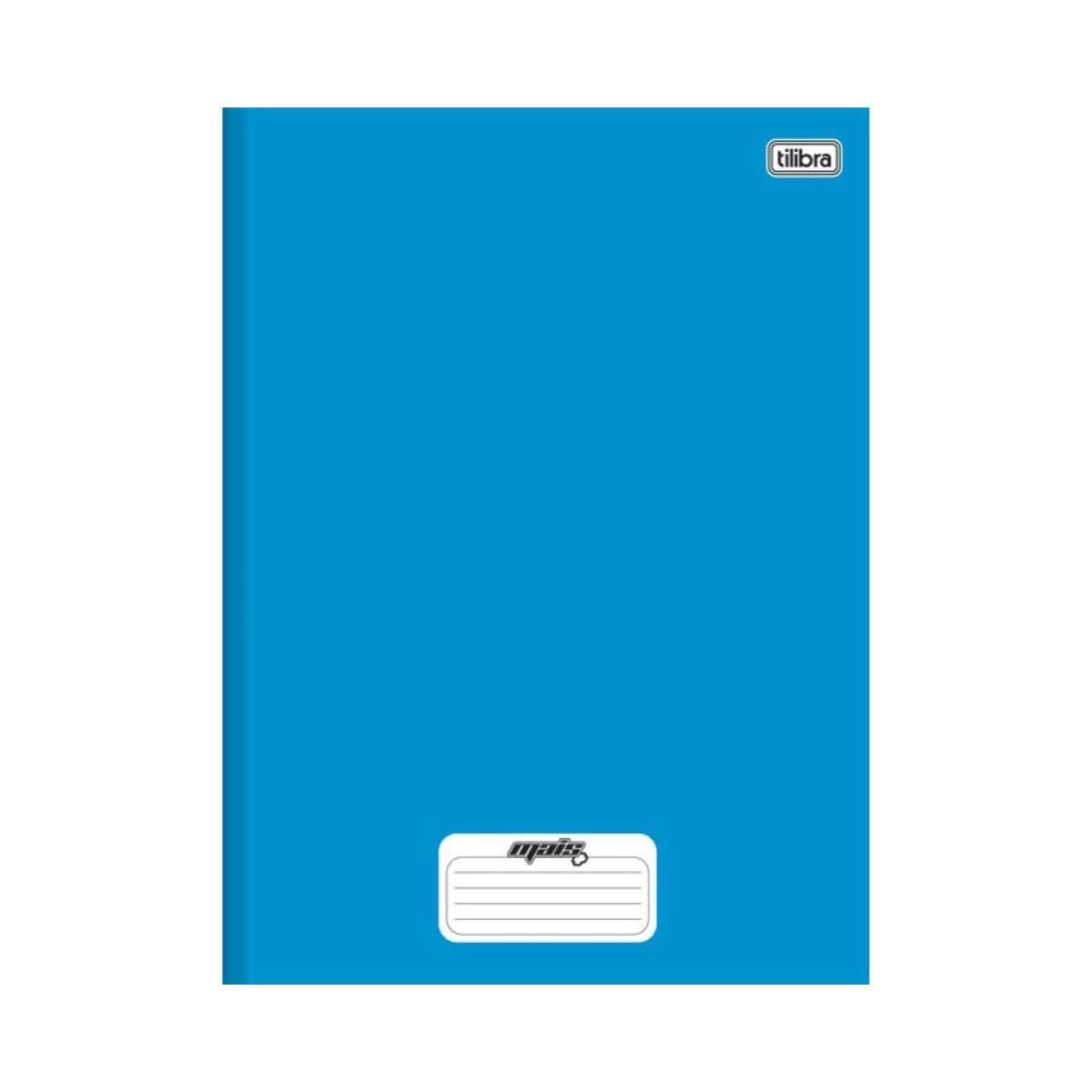 Caderno Mais 1/4 Brochura Capa Dura 96 Folhas Tilibra