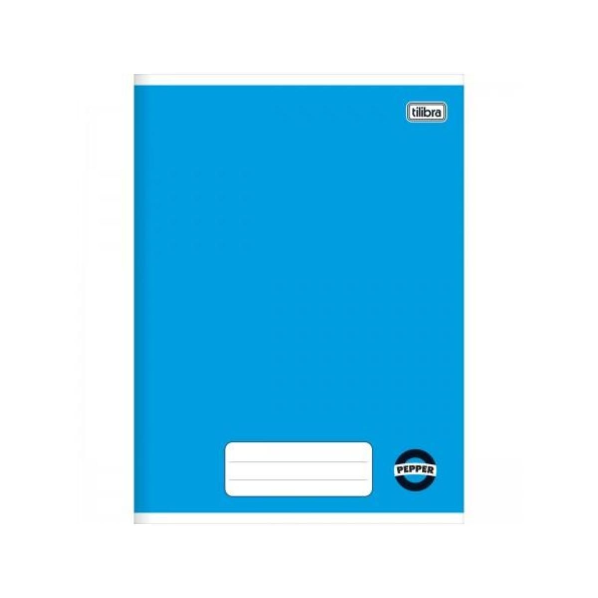 Caderno Pepper Universitário Brochura Capa Flexível 60 Folhas Tilibra