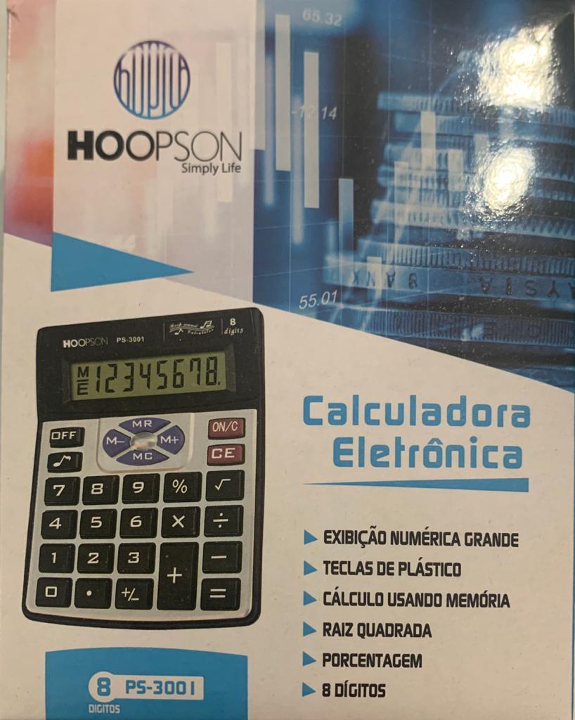 Calculadora PS3001 8Dig