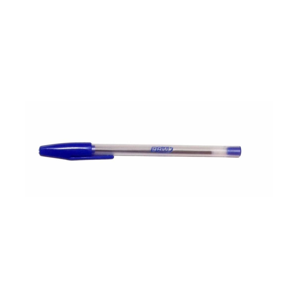 Caneta Esferográfica Azul BRW