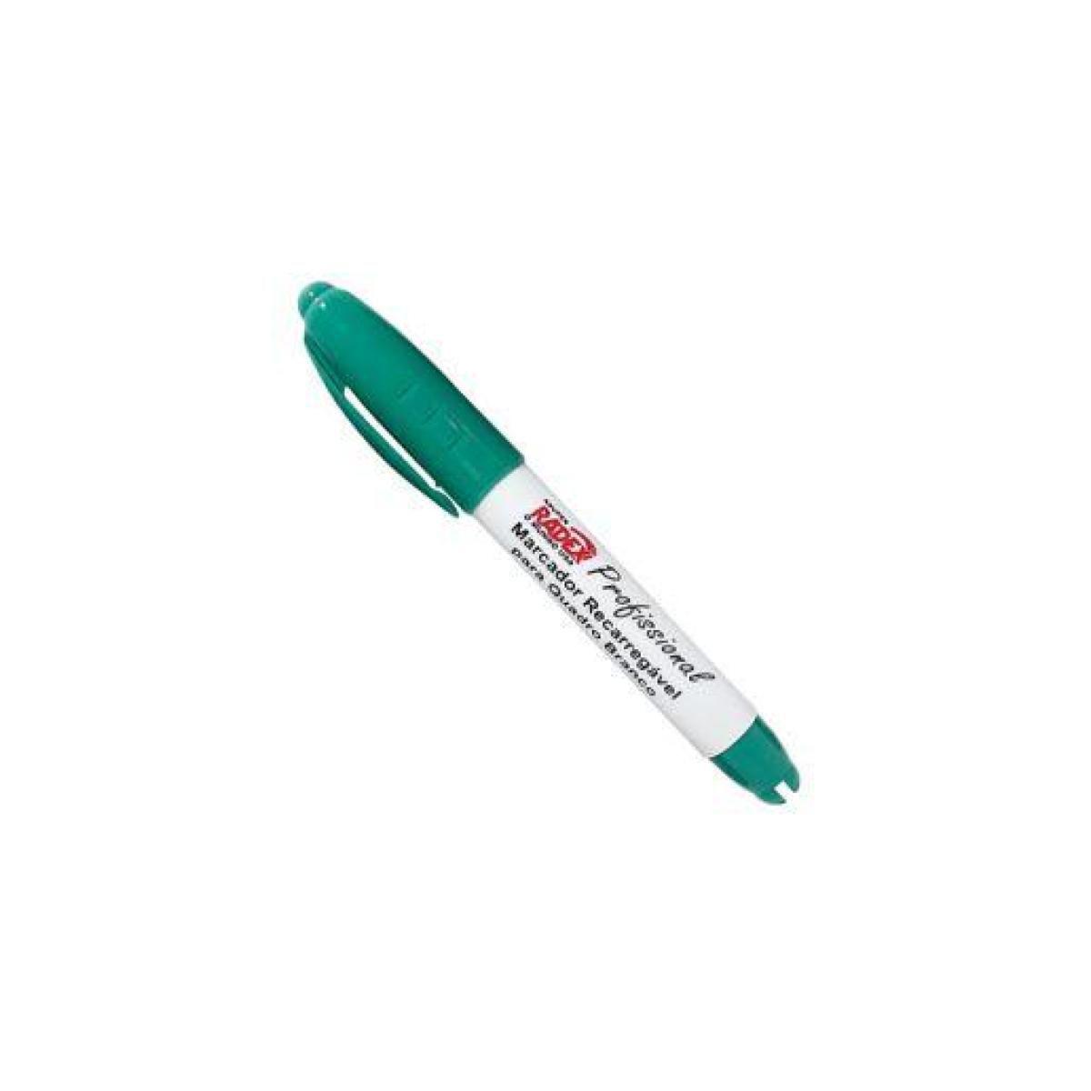 Caneta Quadro Branco Verde Recarregável Radex