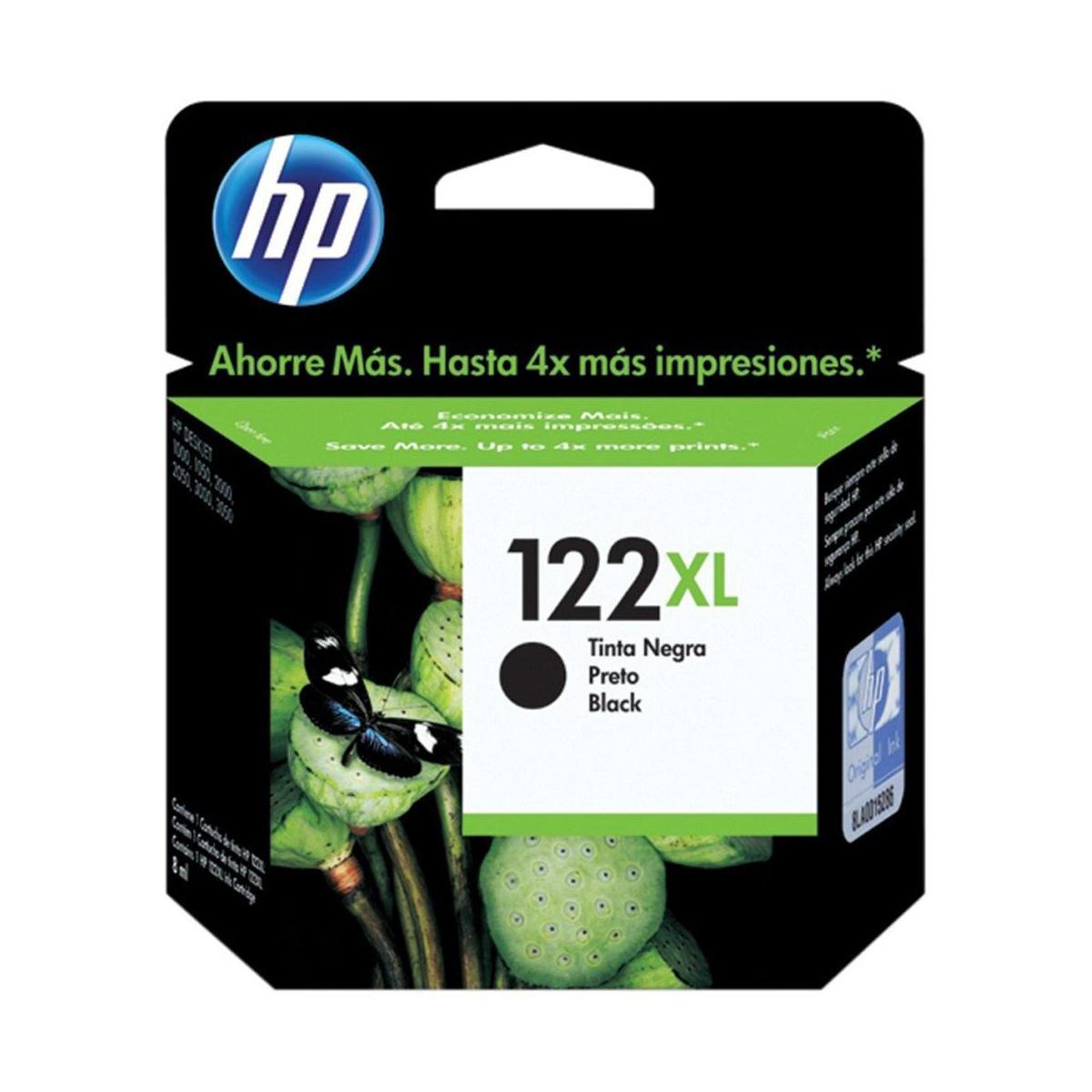 Cartucho 122XL Preto HP
