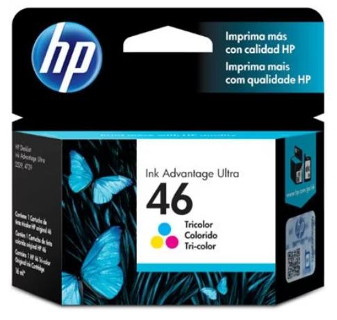 Cartucho HP 46 Colorido HP CZ638