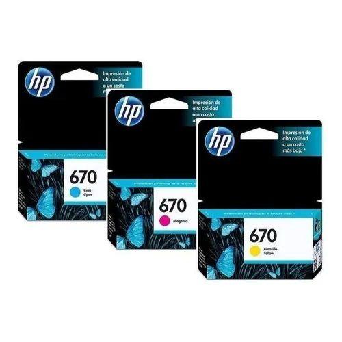 Cartuchos HP Color Individual Diversos modelos
