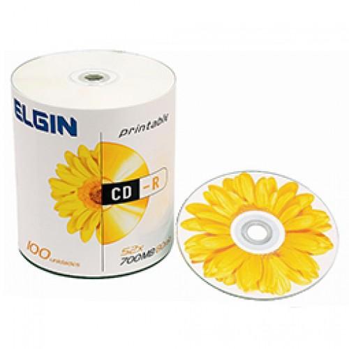 CD-R Grav 700mb/80 52X Printable s/capa