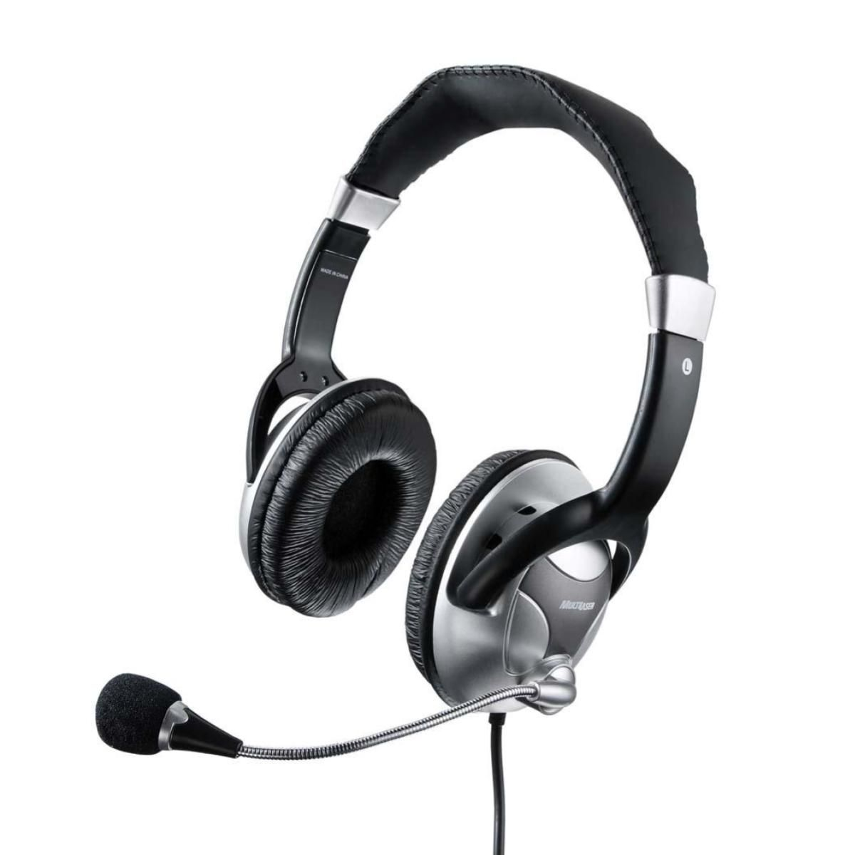 Fone de Ouvido Big Com Microfone Multilaser