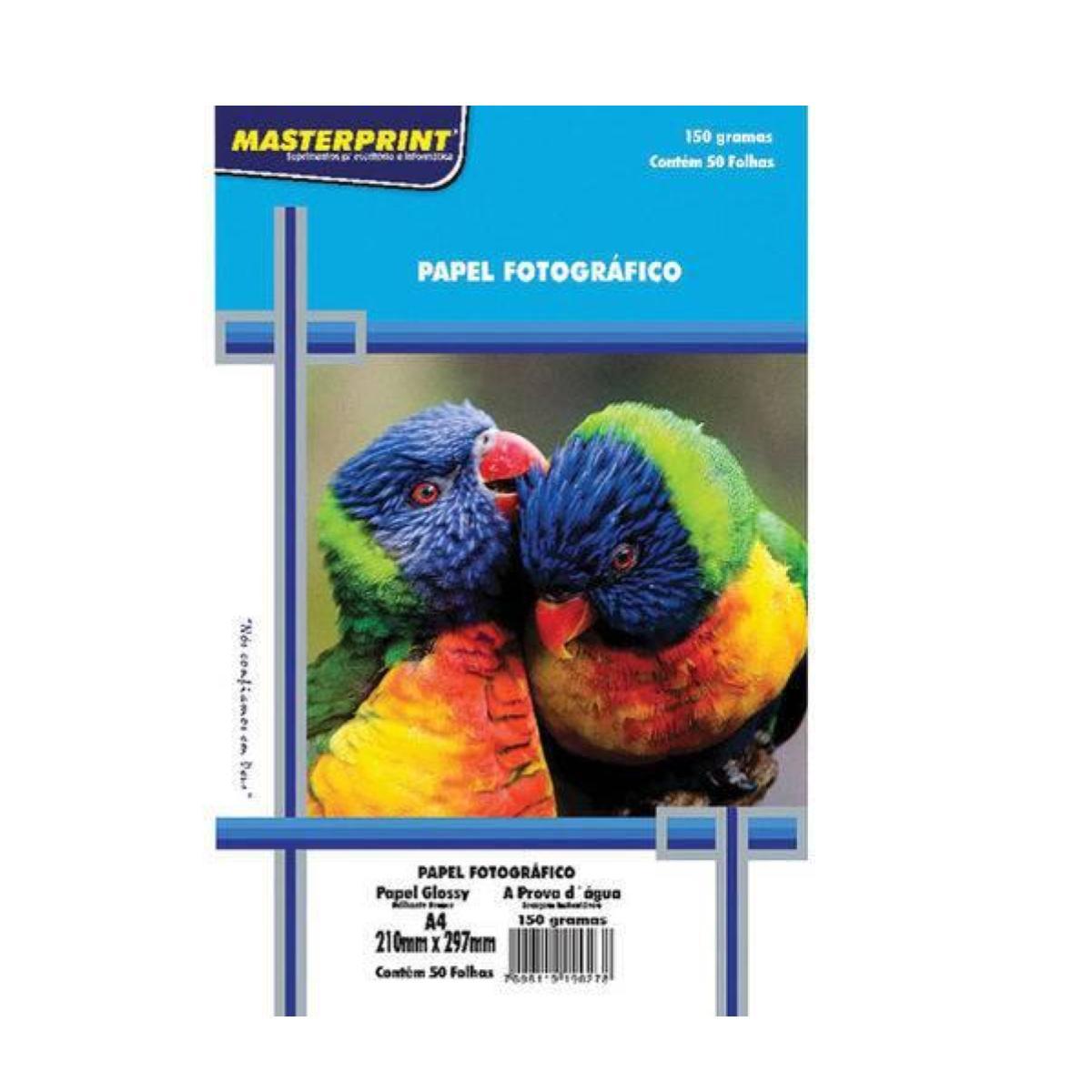 Glossy Paper A4 150g Masterprint