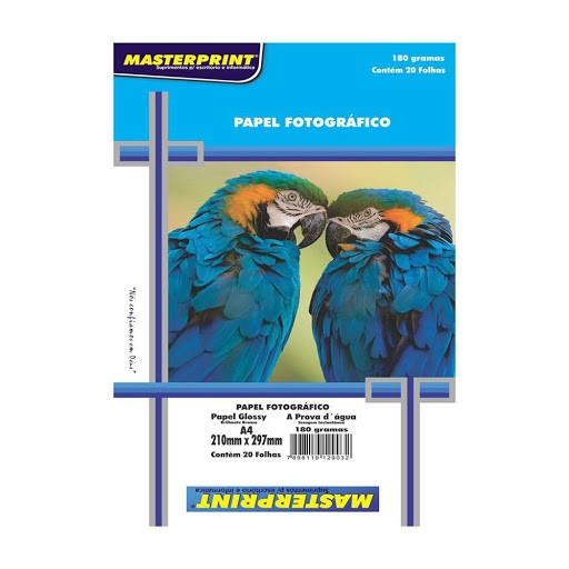 Glossy Paper 130g A4 Adesivo