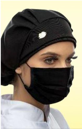 Máscara de Proteção na cor Preta