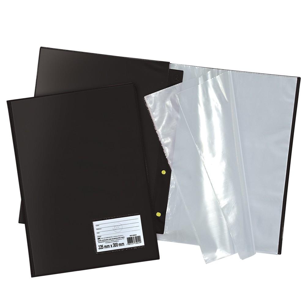 Pasta Catálogo com 10 envelopes