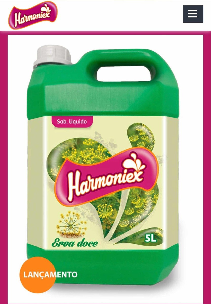 Sabonete Liquido Harmoniex