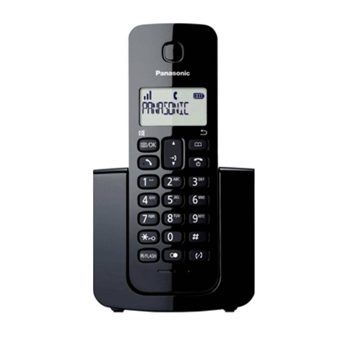 Telefone Sem Fio Com Identificador de Chamada Dect 6.0  Panasonic