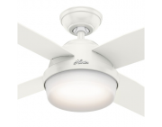 VENTILADOR TETO DANTE 4 PÁS BRANCO - HUNTER FAN