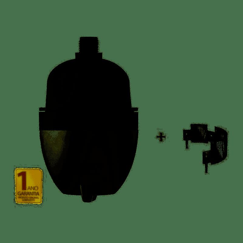MAXI AQUECEDOR ELÉTRICO ULTRA 2 TEMPERATURAS BRANCO/CINZA 127V 4600W OU 220V 5500W - LORENZETTI