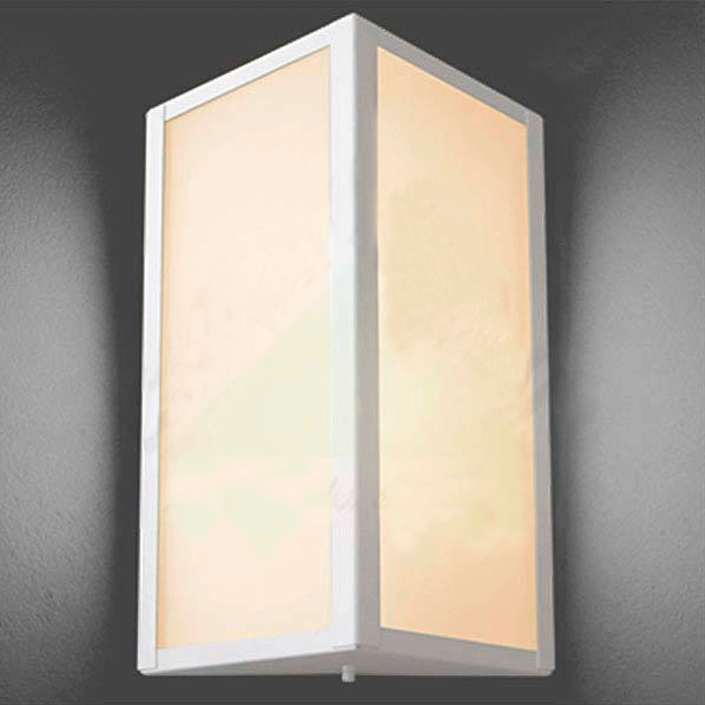 ARANDELA CONTEMPORÂNEA BOLT BRANCO 285 - IDEAL LUSTRES