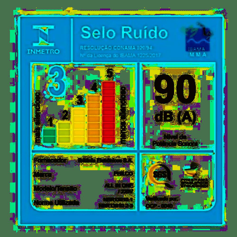 ASPIRADOR DE PÓ VERTICAL PH1100 RÁPIDO + TURBO 1000W 127V - PHILCO