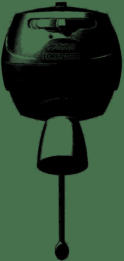 DUCHA JET CONTROL ELETRÔNICA BRANCA 110V 5500W OU 220V 7800W C/ HASTE E MANGUEIRA - LORENZETTI