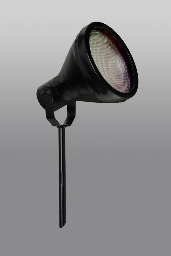 ESPETO DE JARDIM GARDEN E-1038 PRETO - IDEAL LUSTRES