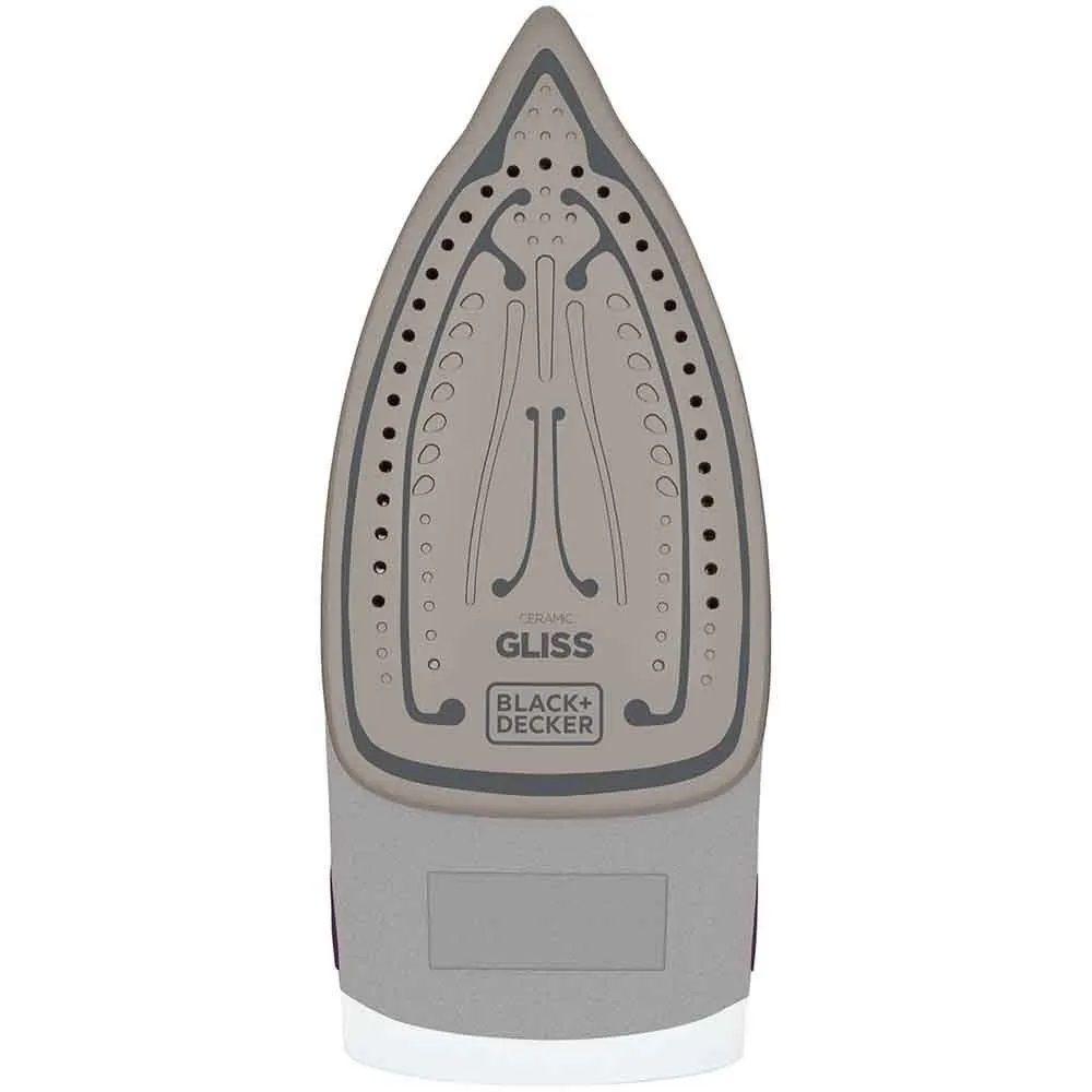 Ferro de Passar a Vapor Cerâmica Gliss 1200W 127V-BLACK DECKER