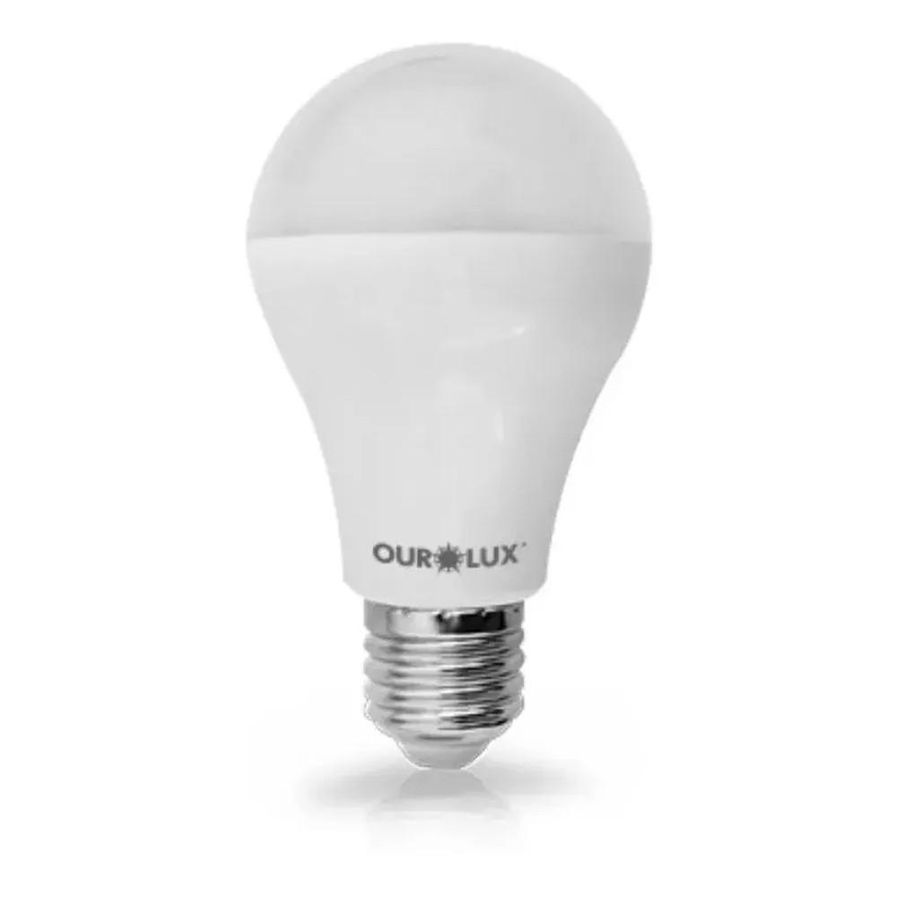 LÂMPADA SUPER LED, ALTA POTÊNCIA 15W 6500K E27 BIVOLT - OUROLUX