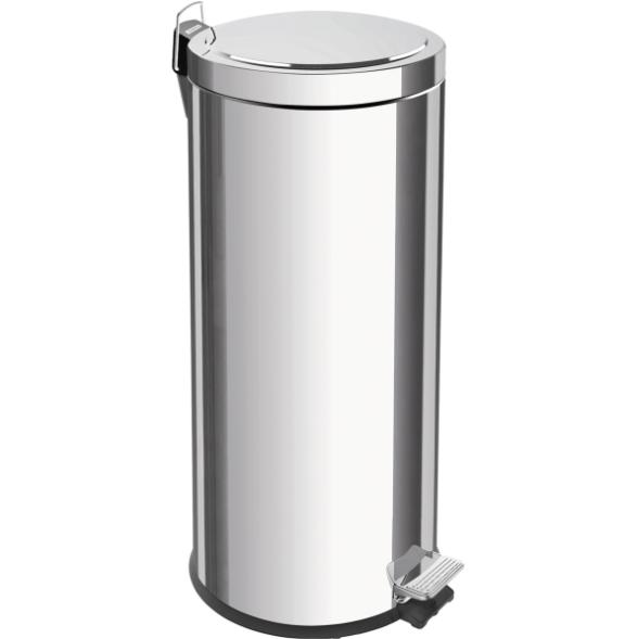 LIXEIRA INOX COM PEDAL E BALDE INTERNO 30L 94538/130 - TRAMONTINA