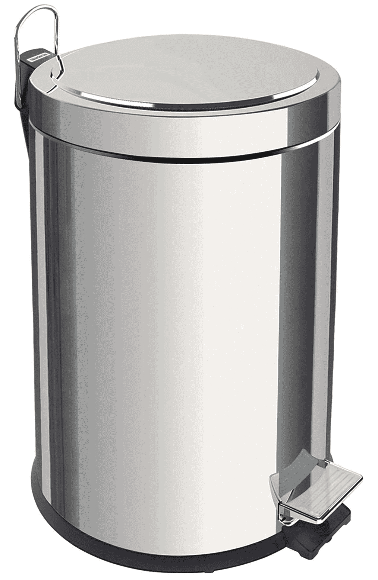 LIXEIRA INOX COM PEDAL E BALDE INTERNO 5L - TRAMONTINA