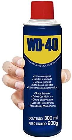 LUBRIFICANTE/DESENGRIPANTE ANTIFERRUGEM SPRAY WD-40 MULTIUSOS 300ML - WD-40