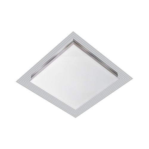 LUMINÁRIA LED EMBUTIR LISBOA 09W 6500K (LUZ BRANCA) 25X25CM - TUALUX