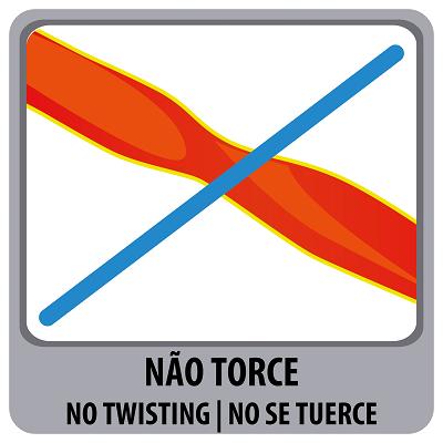 MANGUEIRA ANTITORÇÃO VERMELHA EM PVC C/ ENGATES 15MT - TRAMONTINA
