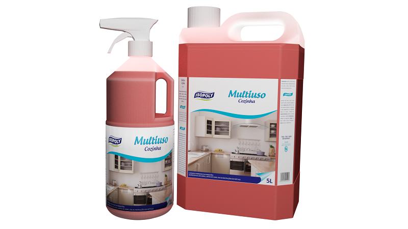 MULTIUSO P/COZINHA C/GATILHO 1L - ISOPOLY