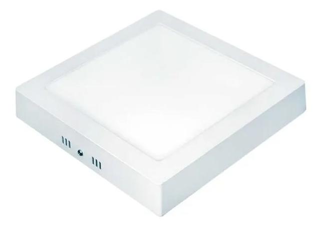 PAINEL DE LED LUX QUADRADO DE SOBREPOR 24W 6500K 28,5X28,5CM - TASCHIBRA